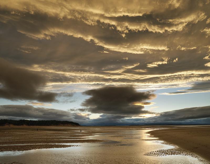 Saint Elmos Fire Findhorn, Findhorn, Moray, Scotland, evening, sun, rim lighting, cloud, glazed, reflection, coffee, blu photo