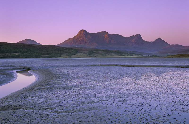 Morning Light >> Sunrise Tongue Estuary : Tongue, Sutherland, Scotland : Transient Light