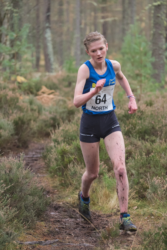 Rhiannon Kirk (North Highland Harriers), finished a very creditable 4th place (20 mins 43 seconds), in the under 17 girls norh...