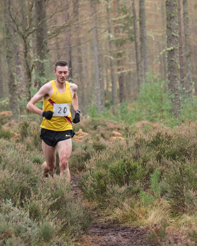 Arguably the outstanding runner of the day was under 20 male athlete Sean Chalmers (seconded to Inverness Harriers), I understand...
