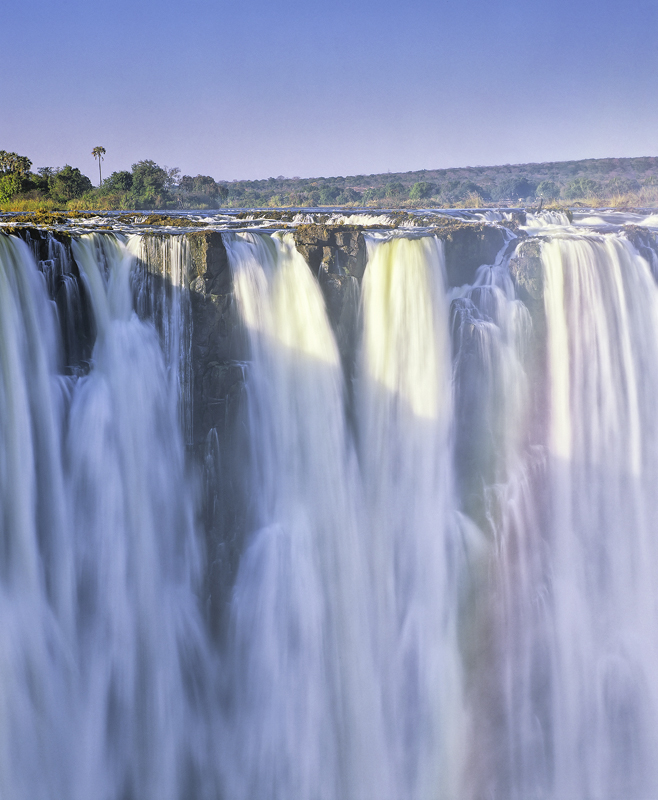 Victoria Falls, Zimbabwe, Africa, Zambesi, Mosai a Tunya, waterfall, cascades, chasm, river, plunges, force, cloud  photo