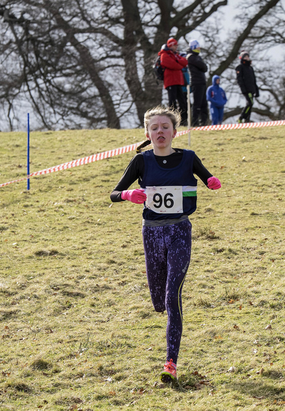 Valencia Wright remained virtually unchallenged in the U13 Group D Girls class running the 2km course in a time of 11minutes...