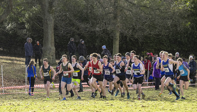 The group B 5km race features my own boy Ben Cameron who would be at the young end of the under 17 age group. To be honest...