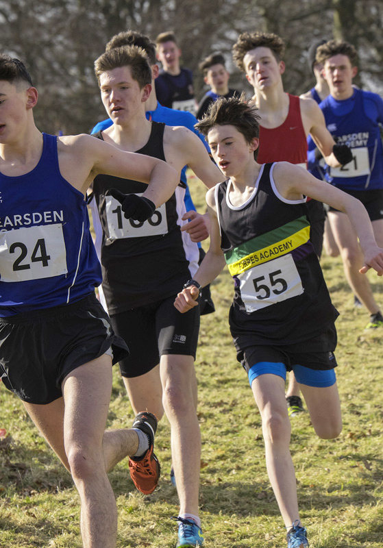 The Pack were several seconds behind the leading group of runners and Ben Cameron my son (55) was amongst them. He is a...
