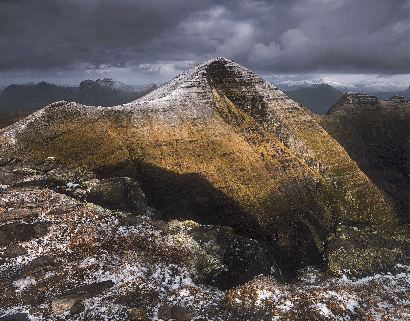 I have climbed Tom Na Gruigach in the Torridons half a dozen times now and the view from the summit across to Beinn Alligin and...