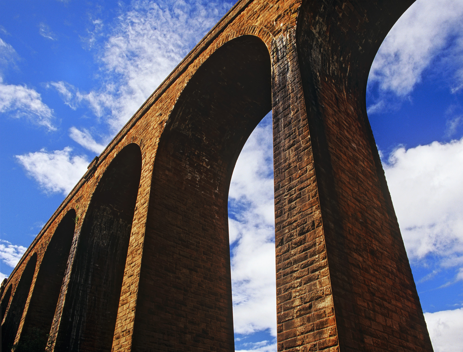 These superb victorian arches span a river near Culloden over which passes a railway line. It is difficult to conceive...