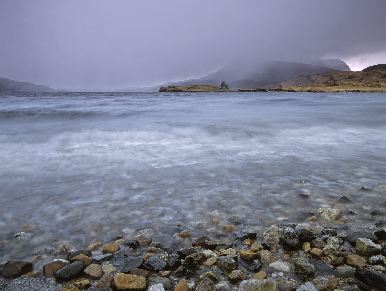 A barrage of  savage squalls and horizontal rain and hail swept in across Loch Assynt on an early Spring afternoon.&nbsp...