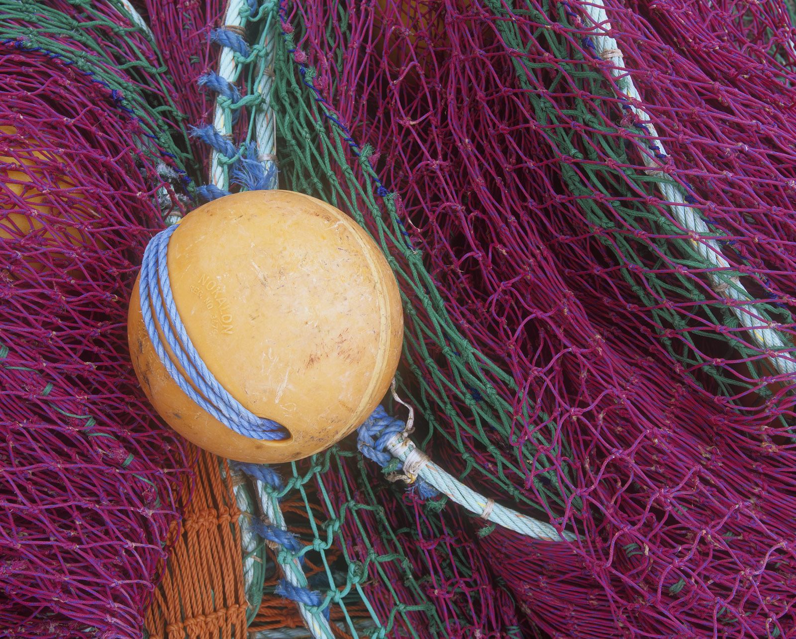 The fishing nets at Burghead harbour make a great intimate subject on a dull day. The saturated colour combinations of...