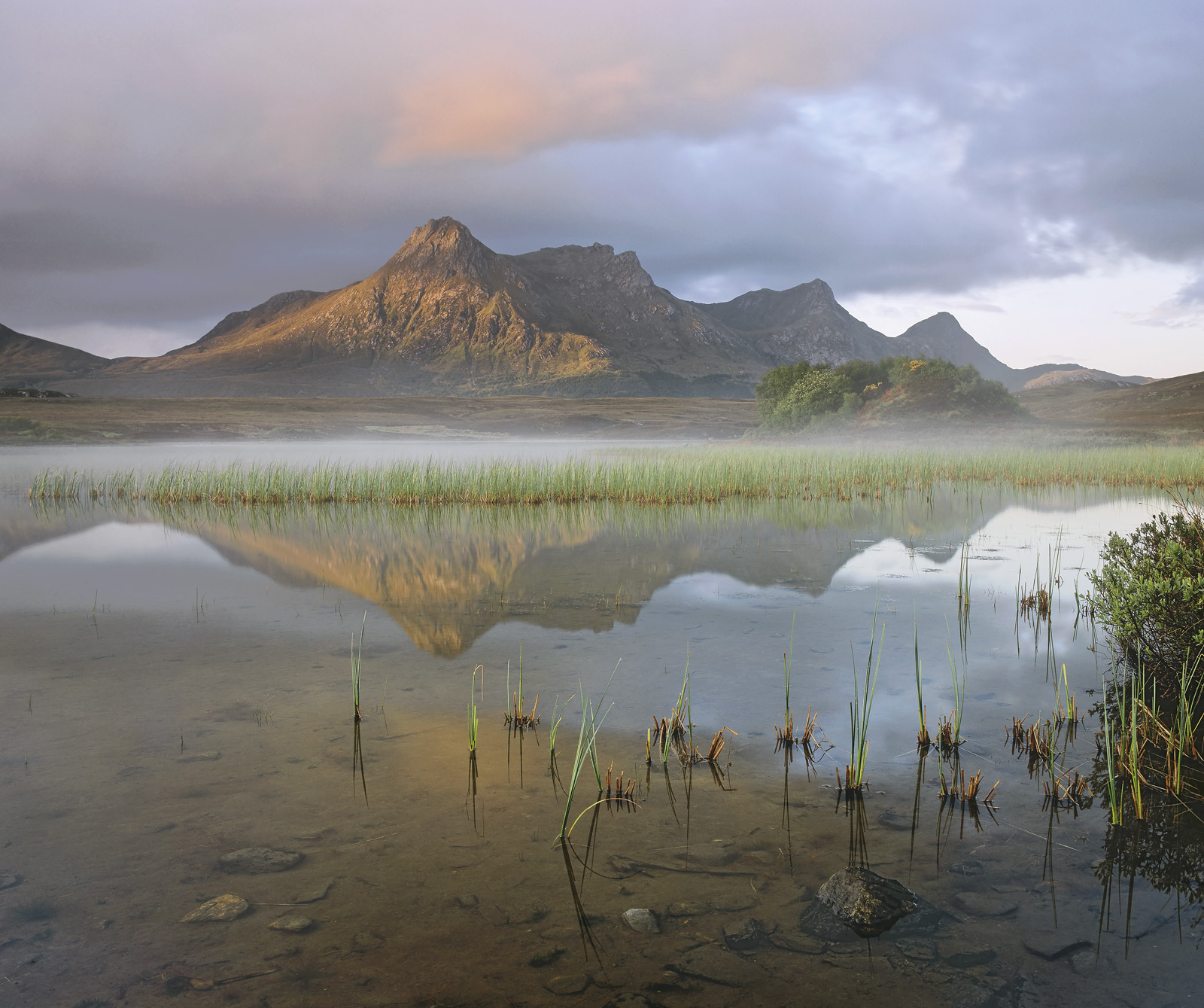 On a beautiful serene Summers morning with just a slight chill in the air. I worked my way around Loch Hakel towards a...