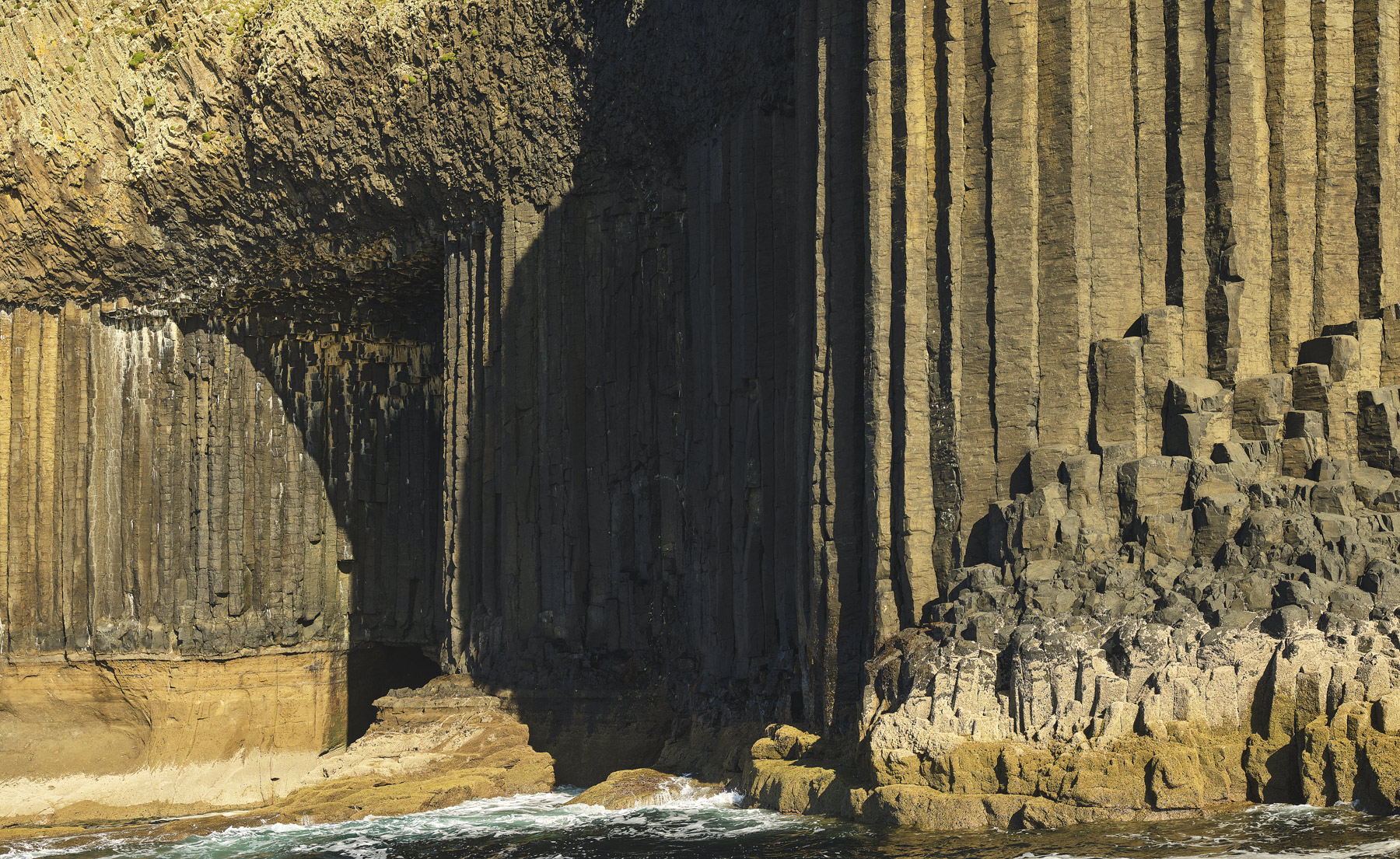 This was my first ever visit to Staffa one I have planned for a while. I finally got a weather window and this sight greeted...
