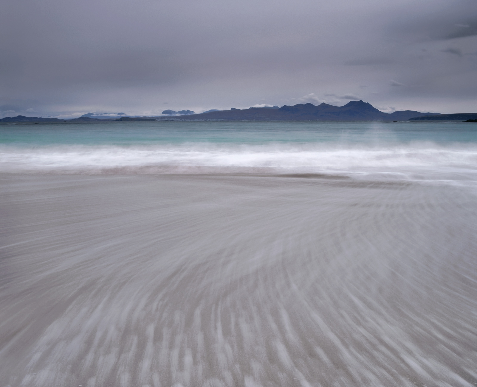 Mellon Udrigle near the west coast scottish village of Laide has a stunning red sand beach. On New Years day 2009...