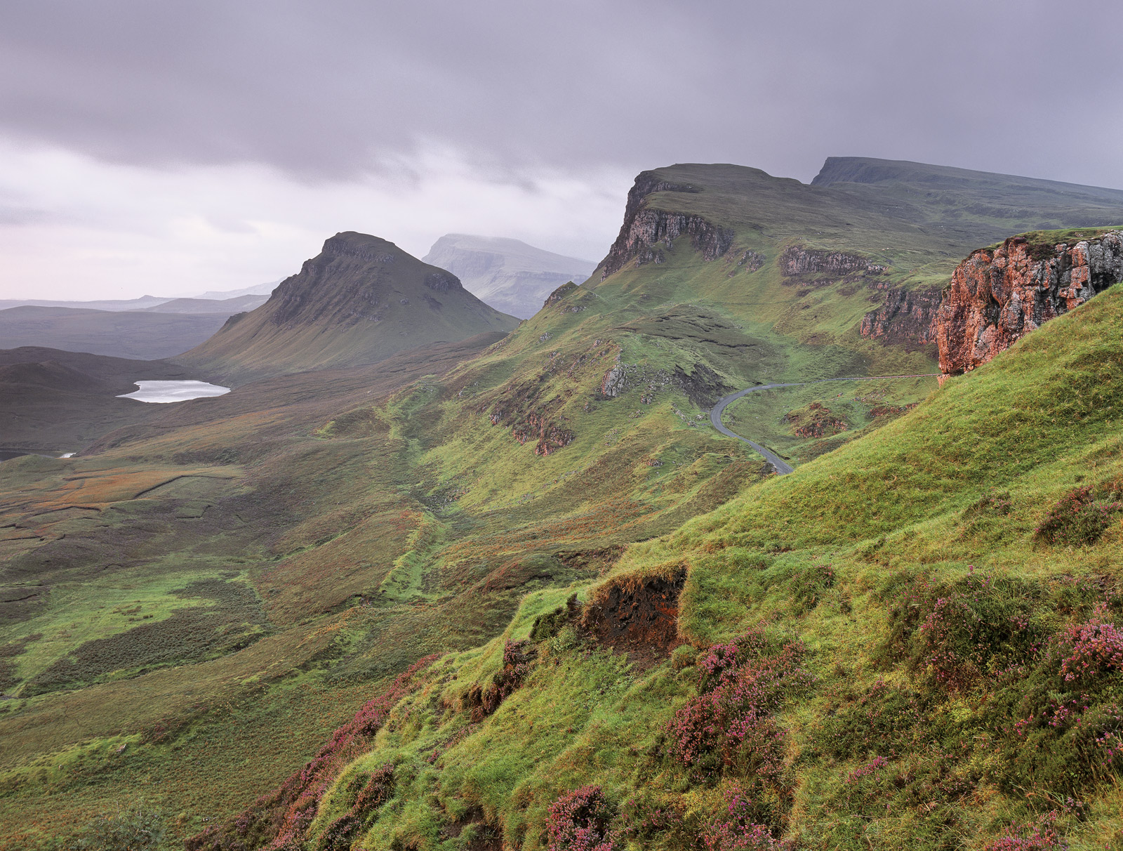I am sure the light appears blissfully ordinary on this gentle autumnal or late summer sunrise on the Quiraing and this was the...