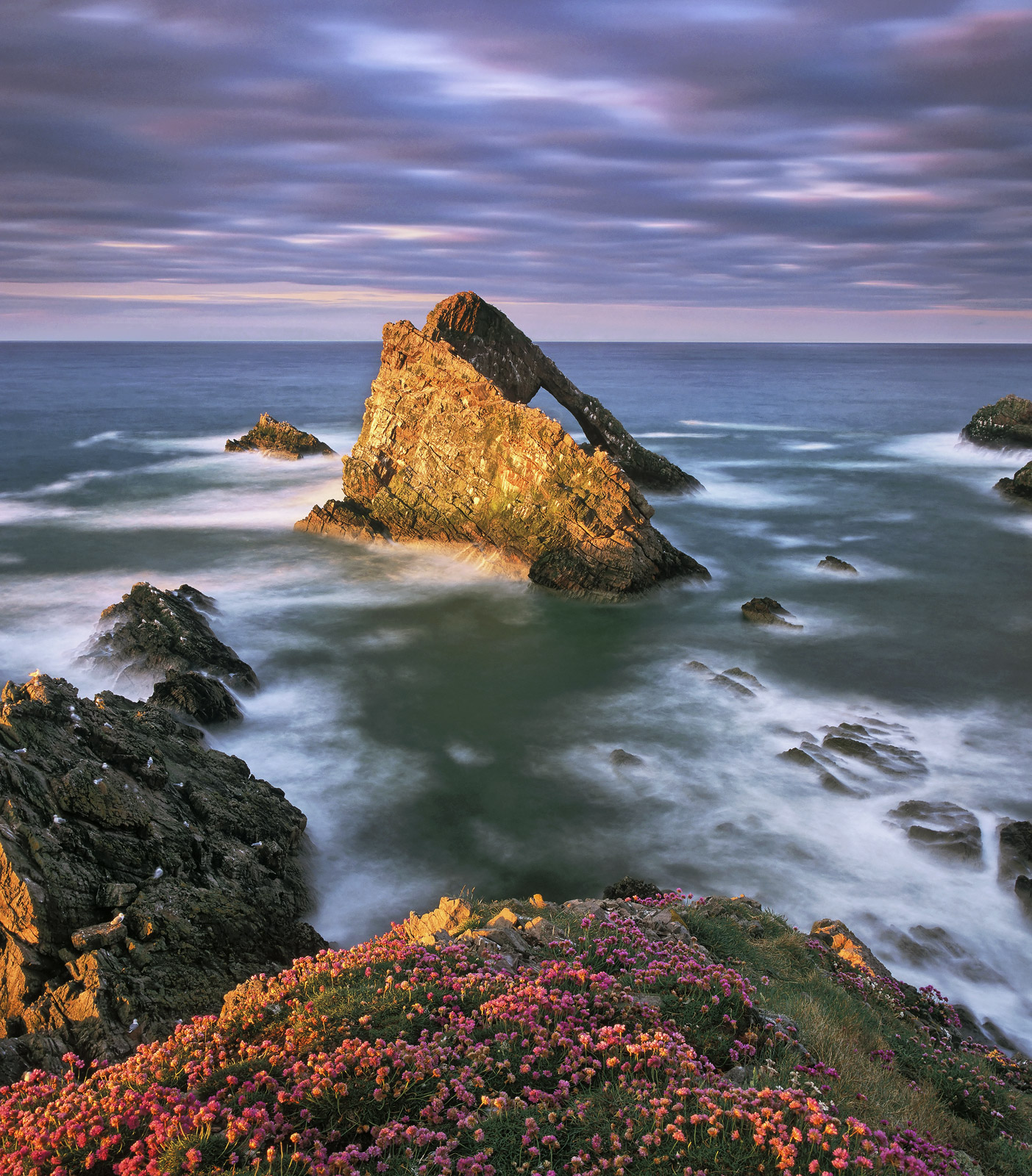 In my humble opinion this is one of if not the very best shots that I have ever taken of Moray's icon the Bowfiddle rock.&nbsp...