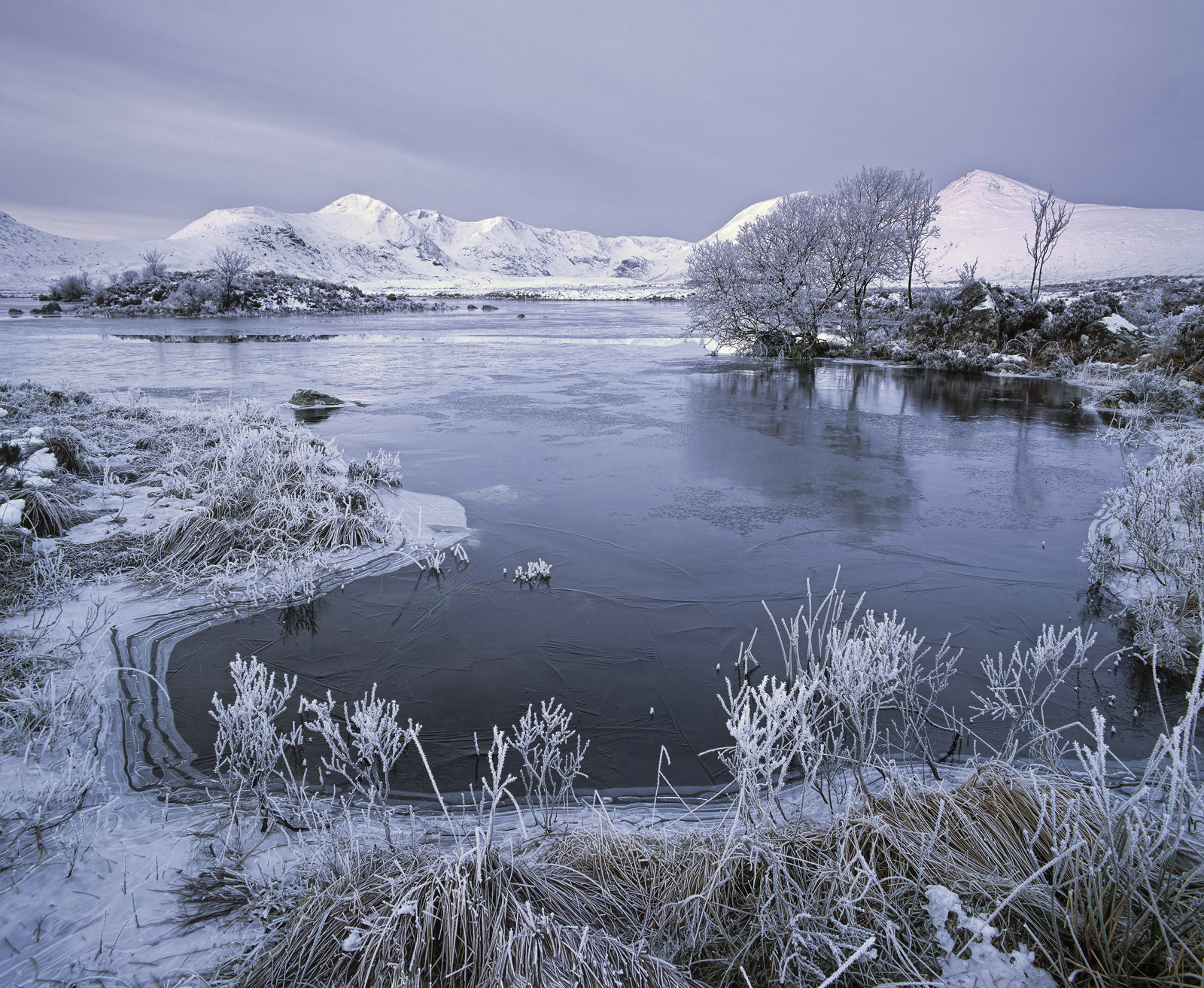 A winter freeze high on Rannoch moor at one of my favourite locations gazing toward the Blackmount. Everything was breathtakingly...