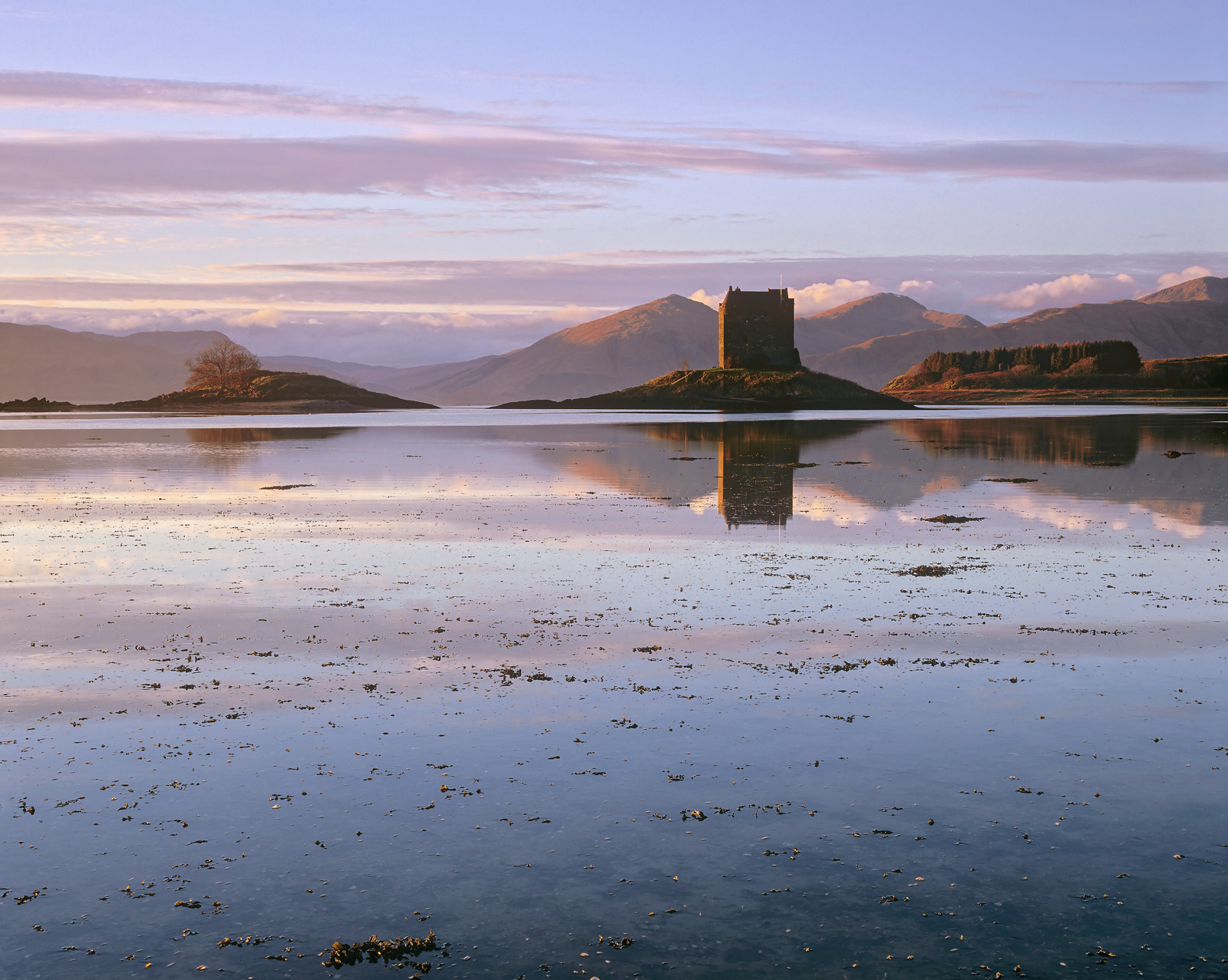 This delightfully situated castle on the Argyll coast is fabulously atmospheric especially at sunset when low light streams in...