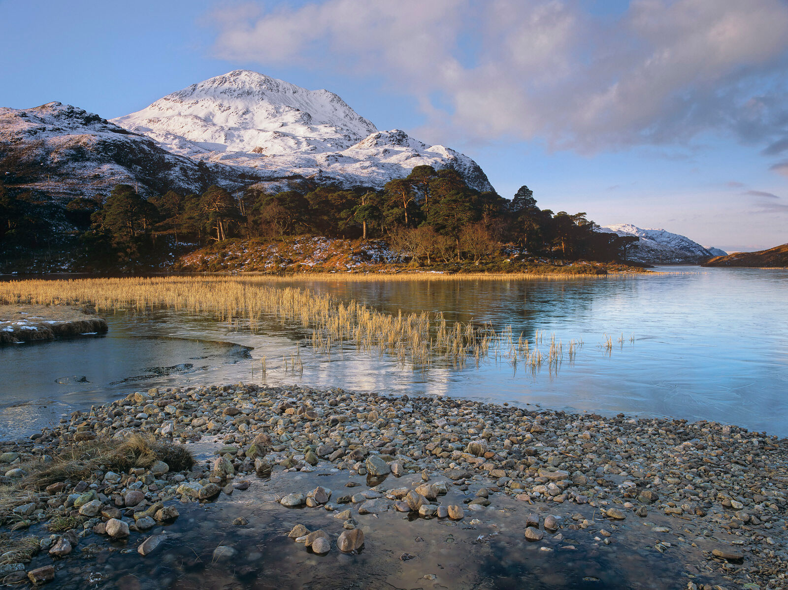 Loch Clair is nestled within the Torridon mountains and surrounded on both sides.  It is an enchanting loch which photographs...