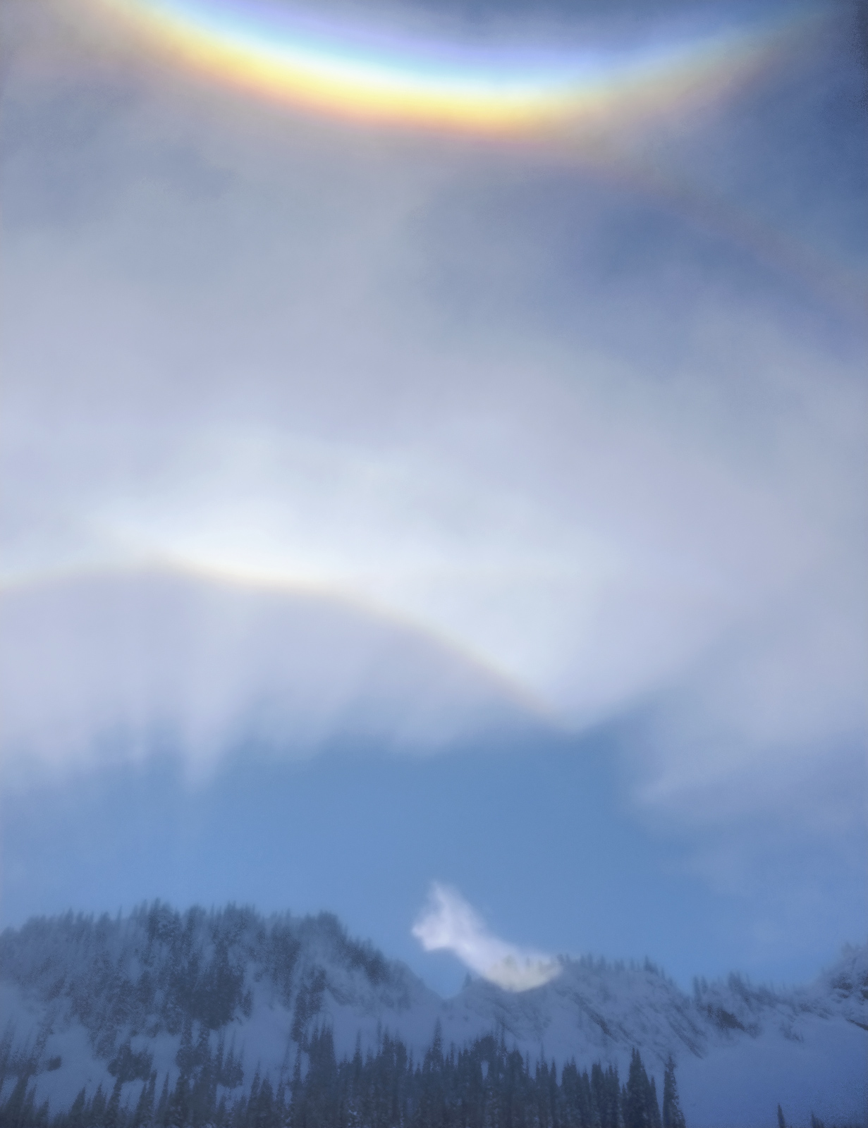 I have never before withessed solar phenomena such as these and it occurred whilst skiing first thing in the morning in the Canadian...