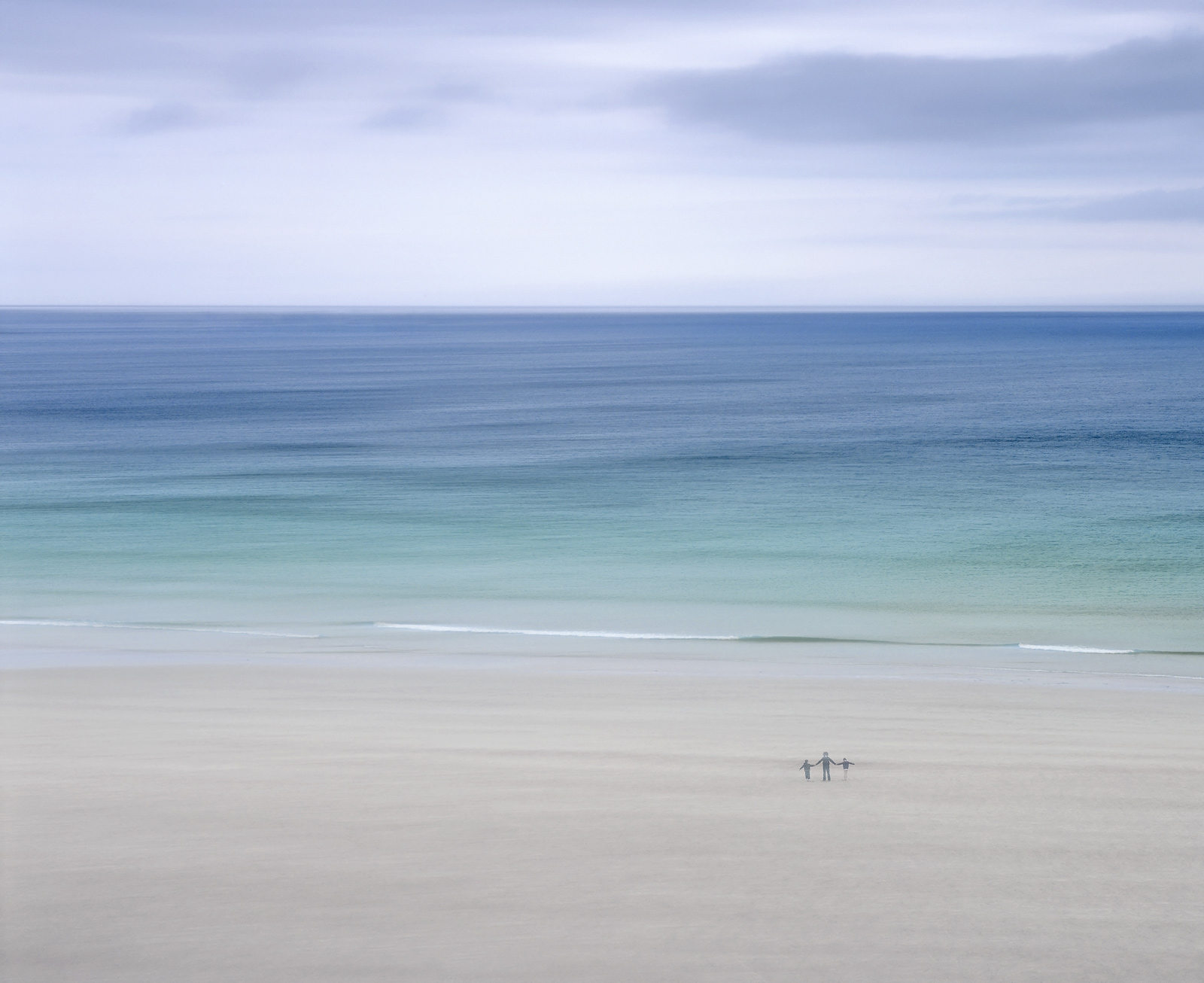 I was travelling north for a short holiday with my wife and two children and we found some stunning beaches around Durness including...