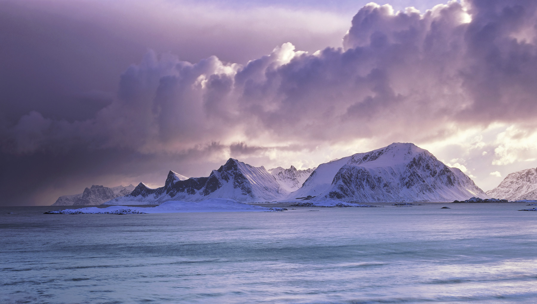 This was some of the most impressive light I have witnessed on my frequent trips to Lofoten.  A savage winter squall swept...