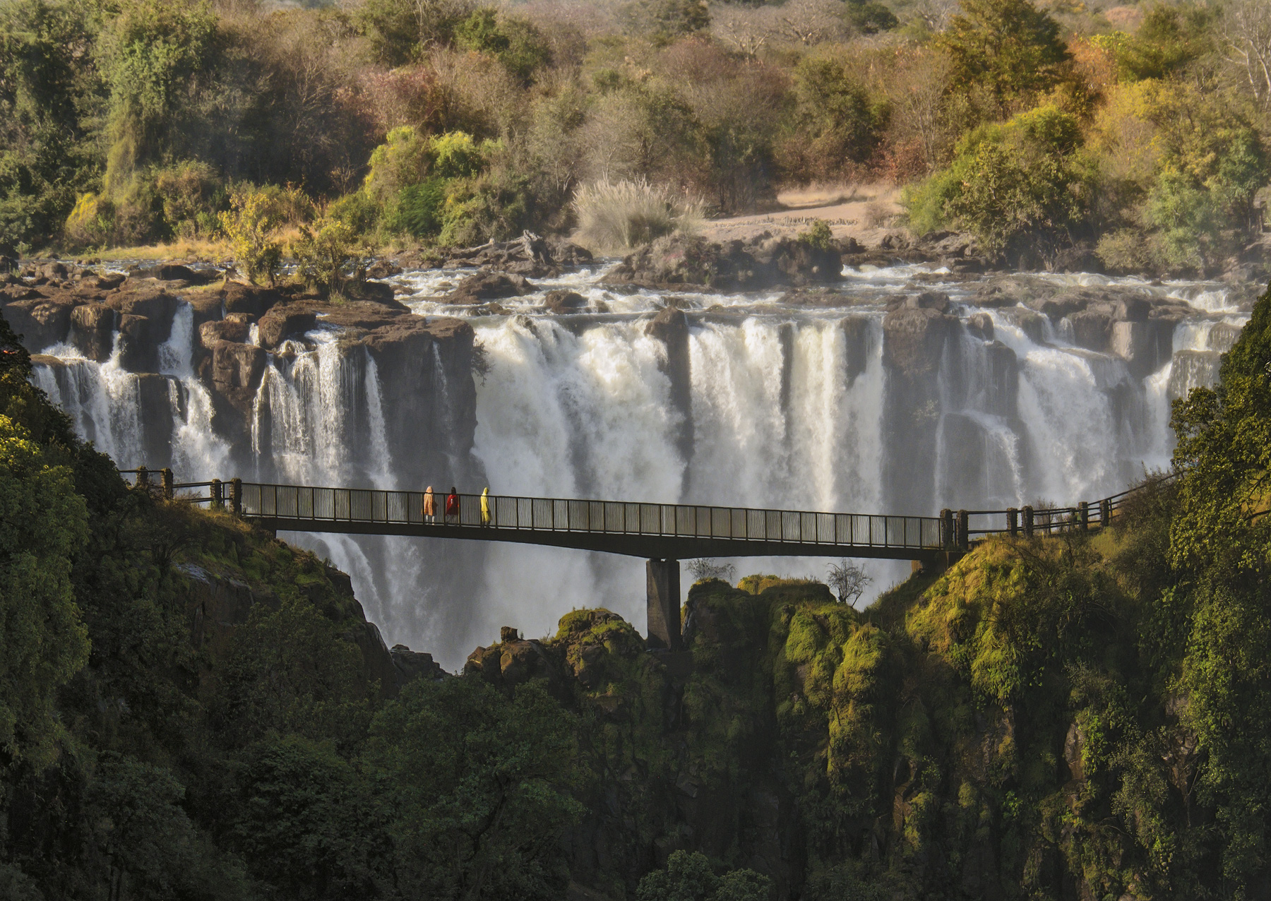 One of the biggest problems of photographing the gigantic expanse of Victoria Falls is that the sheer volume of water generates...