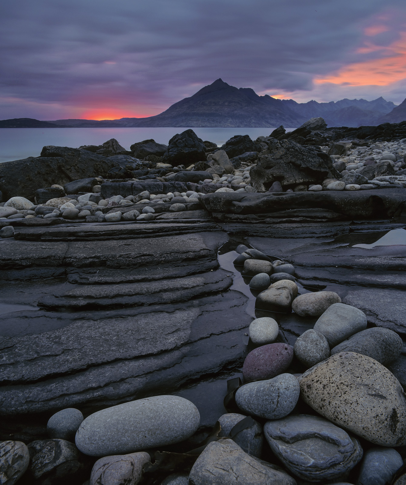 Elgol is always a highly productive place for pictures it is a fabulous beach but the backdrop is even more remarkable with the...