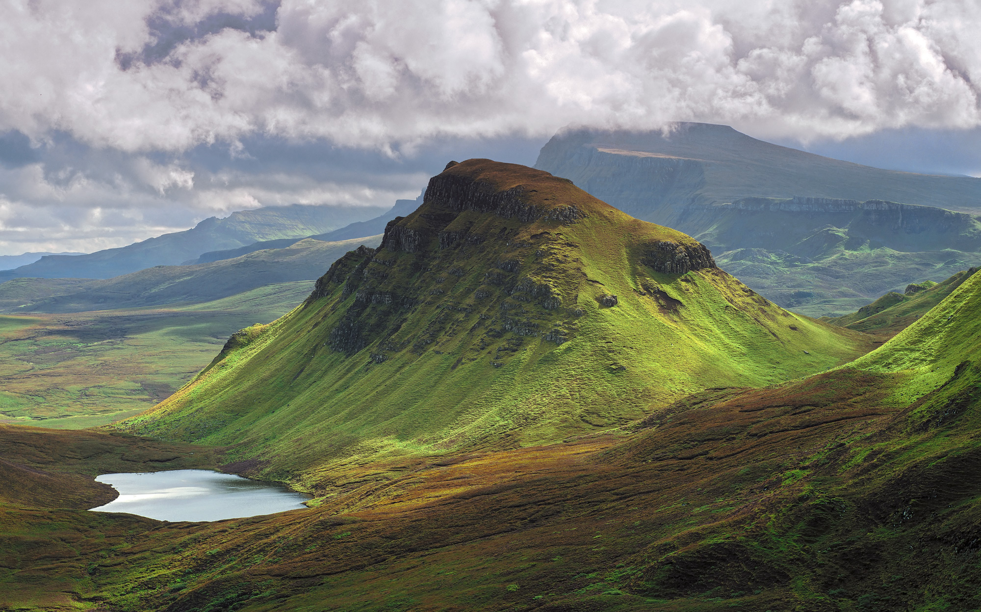 The Trotternish ridge is an escarpment that runs along the northeast coast of Skye. It is an exceptionally beautiful...