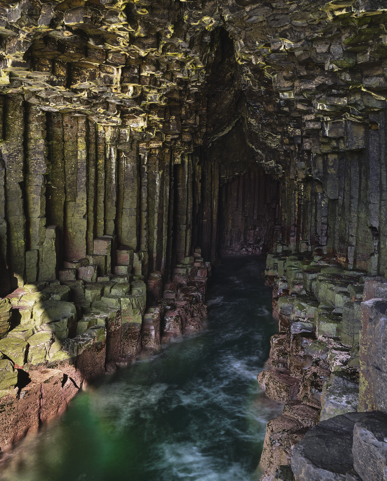 Fingal's cave 2 is just magnificent. It is one of the iconic visual treats provided by the tiny and not particularly ancient...