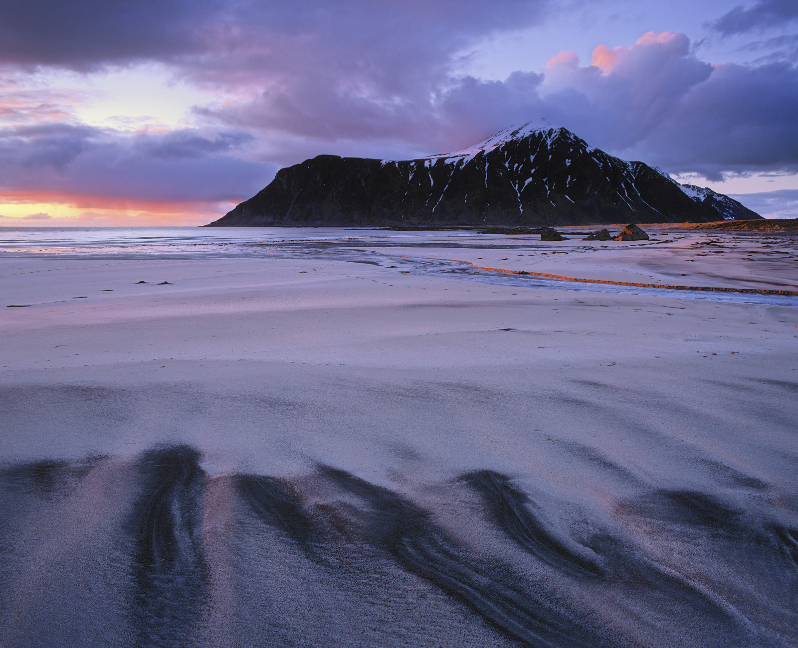 On a freezing cold late Spring night just shy of midnight, Lofoten being situated just inside the Arctic circle, the sun finally...