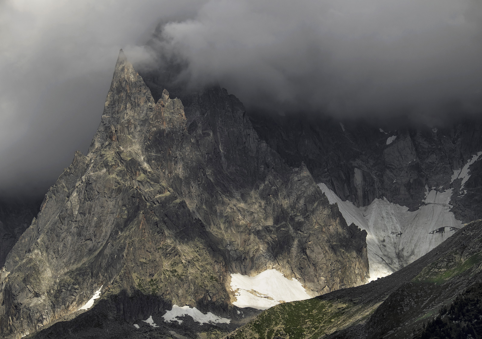Towering over Chamonix with it's head in the clouds are the mountains of the Mont Blanc Massif and although I was cossetted on...