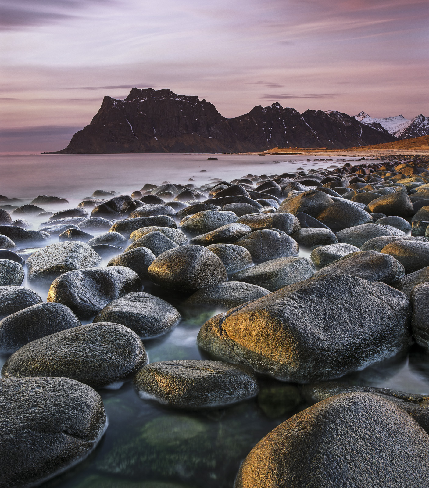 With its giant polished and rounded black boulders Uttakliev's beach proves an irresistible draw. I found myself having...