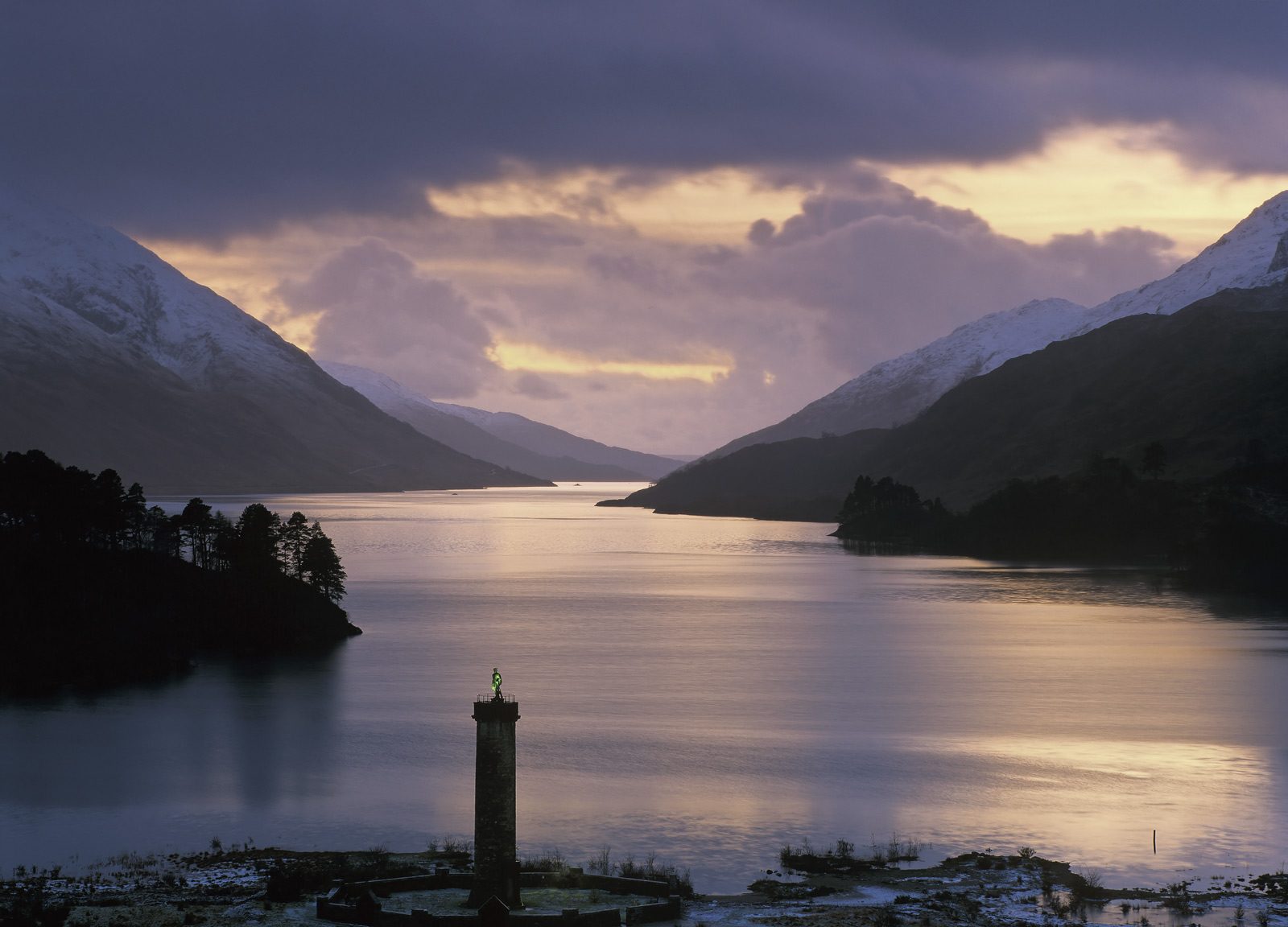 Only around three days every year does the sun set down the entire length of this extraordinarily narrow loch at the end of which...