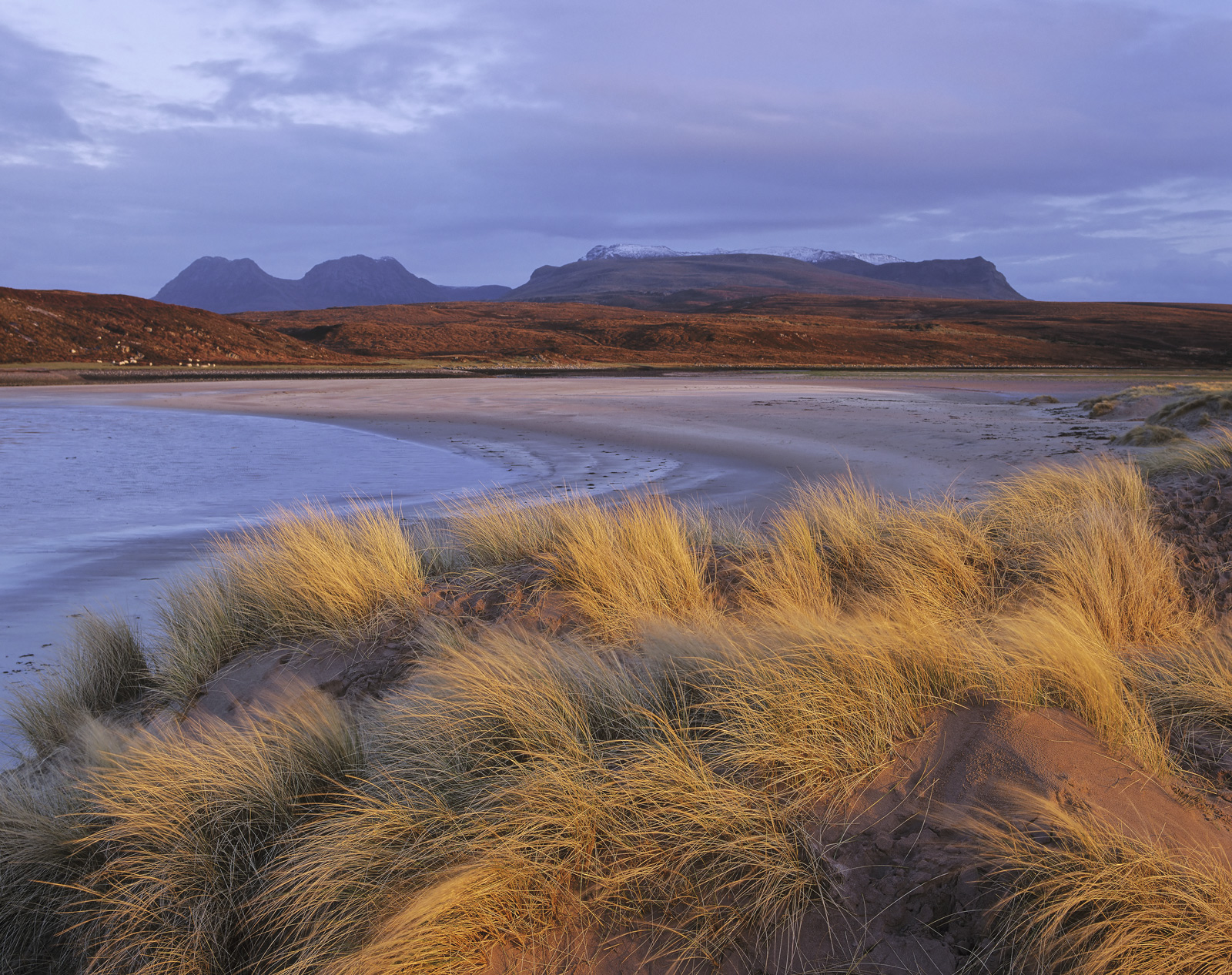 This gorgeous sandy beach has one of the best backdrops in Scotland. The Inverpolly peaks are pretty much instantly recognisable...