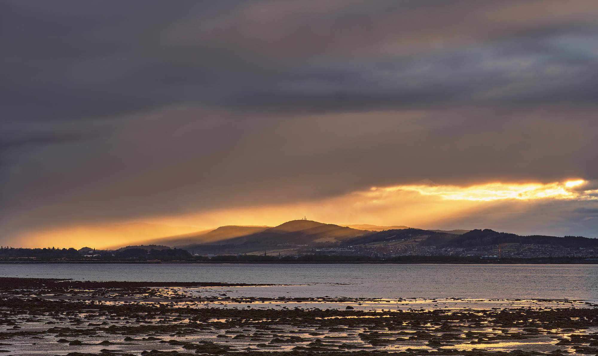After a wee bit of planning I decided on a visit to a new location for a winter sunset close to Inverness on the Moray Firth...