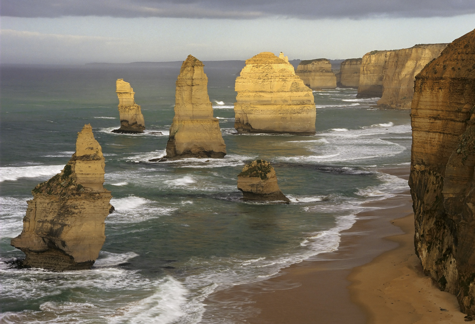 This particular scene of tthe 12 apostles can no longer be taken as this image dates from 1998 and the front apostle has since...