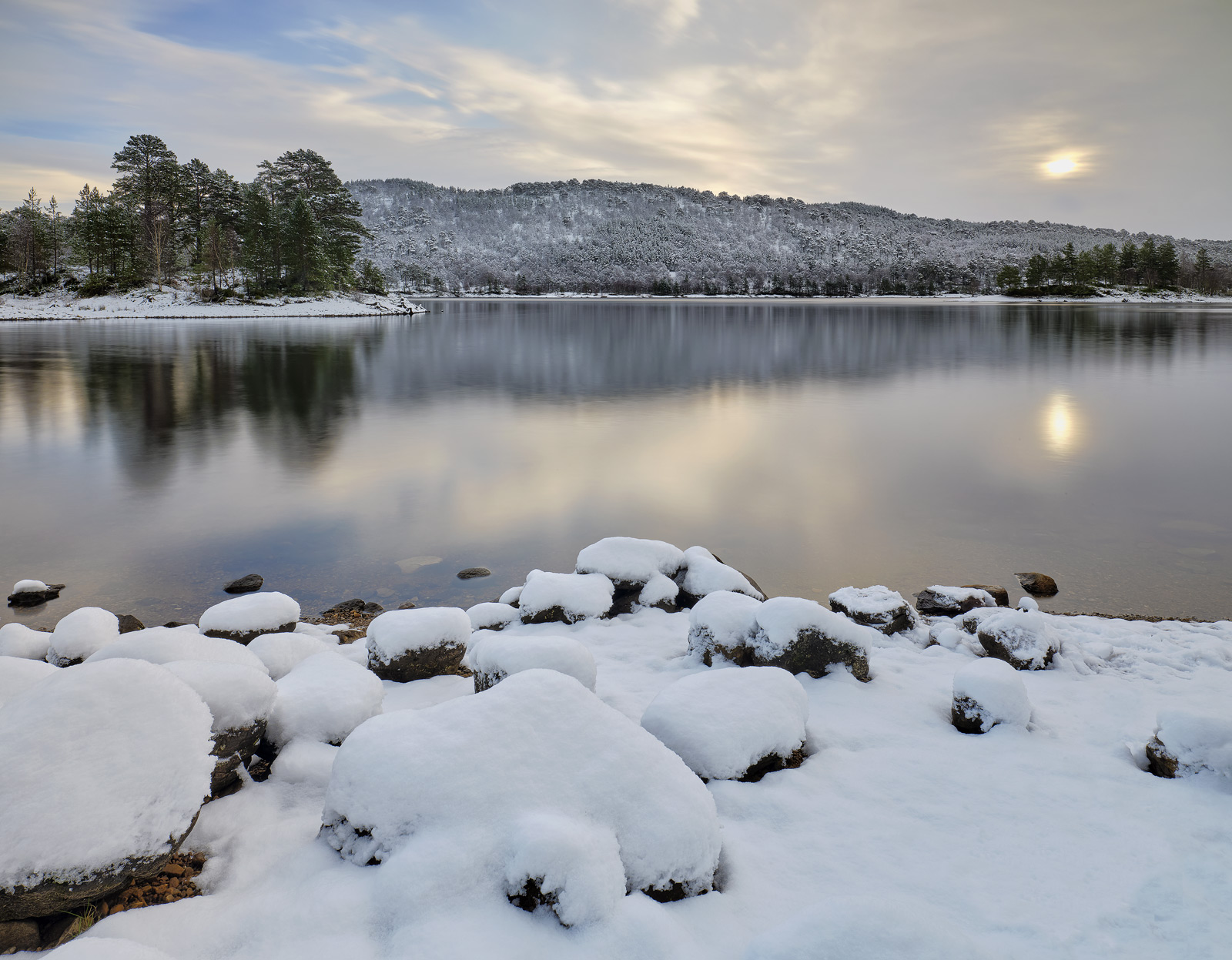 Glen Affric is a remarkably snow sure place and is usually a few degrees colder than most other places.  This is one of my favorite...