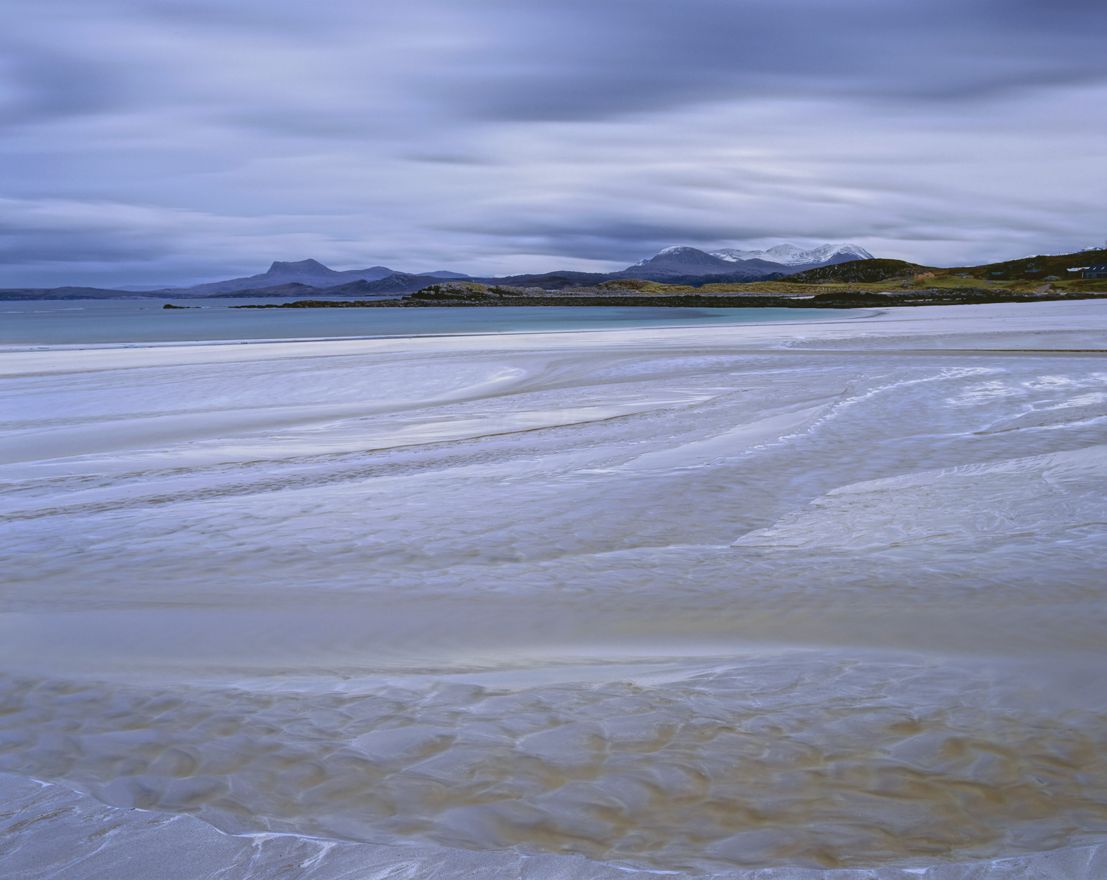 Sunset faded without the hoped for drama from grey to blue, yet I found it to be most satisfactory. Mellon Udrigle was...