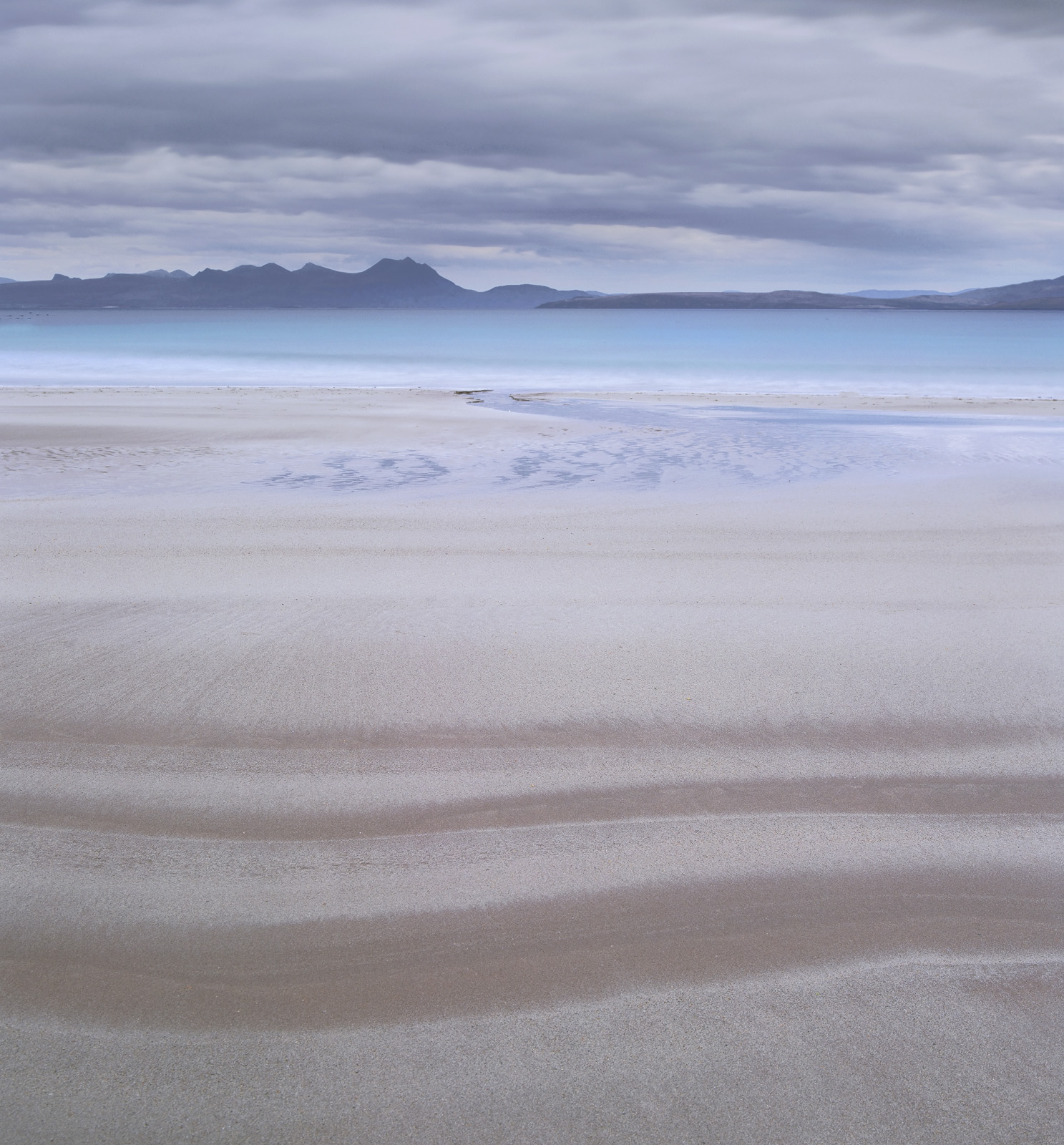 My favourite Scottish beach I prefer to photograph it in very flat pre-dawn light and explore the soft hues and tones that make...