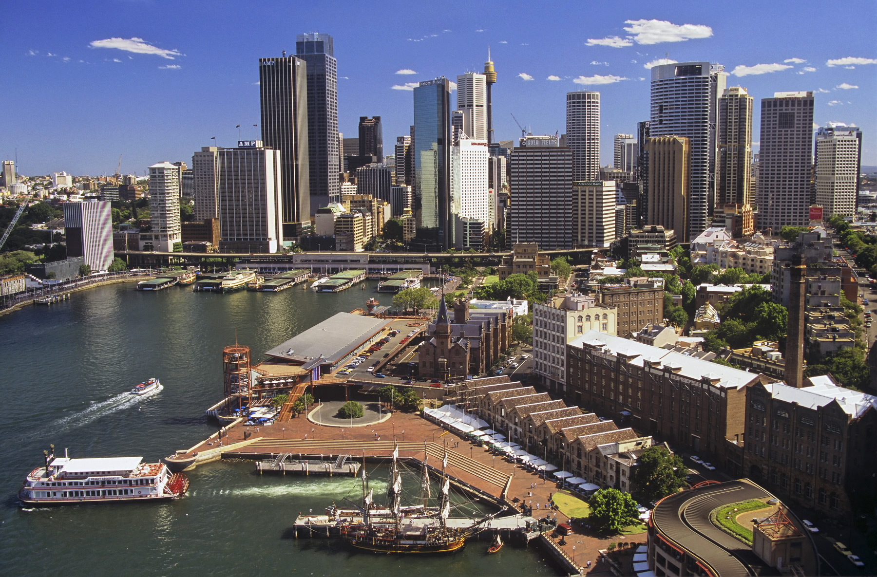 One of the best views of Sydney's beautiful harbour is from a lofty viewpoint on top of the bridge viewing platform.  The city...