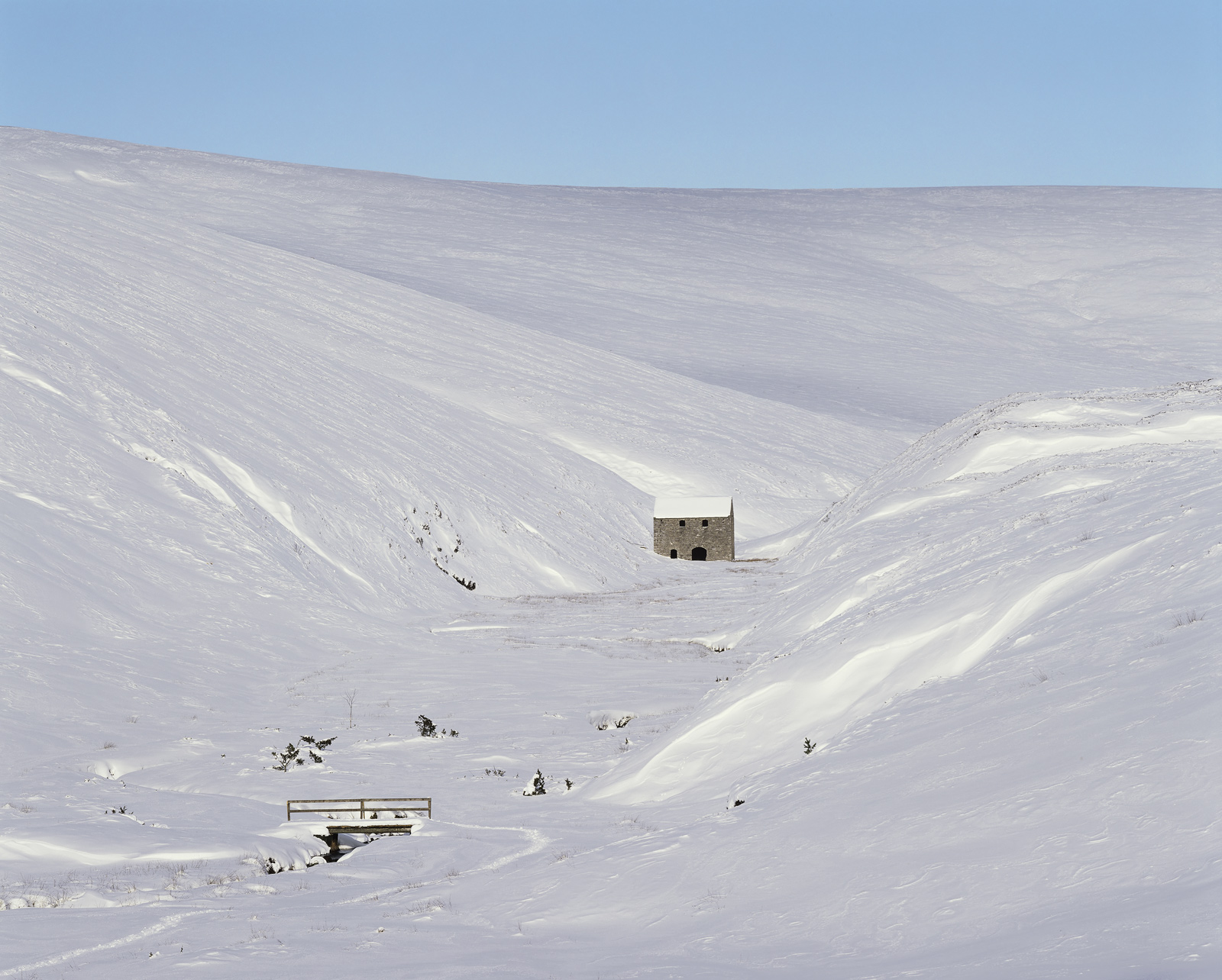Ski resorts in Scotland are usually closed because there is no snow or because you can't physically get there when there is snow...