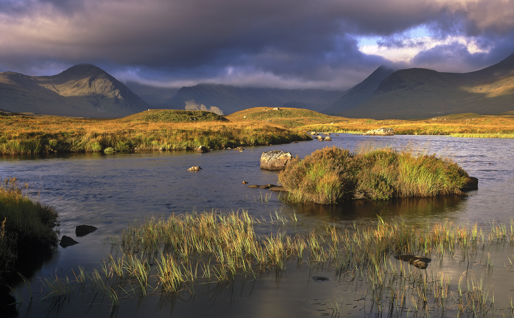 Rannoch moor a vast expanse of waterlogged moorland backed by mountains has the capacity to produce some of the most astonishing...