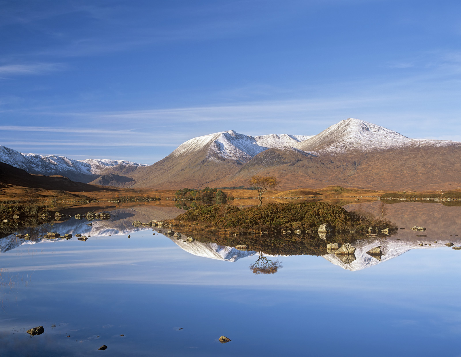 The most perfect mirror and glass smooth reflections I think I have ever witnessed on Rannoch Moor at the very best time of year...