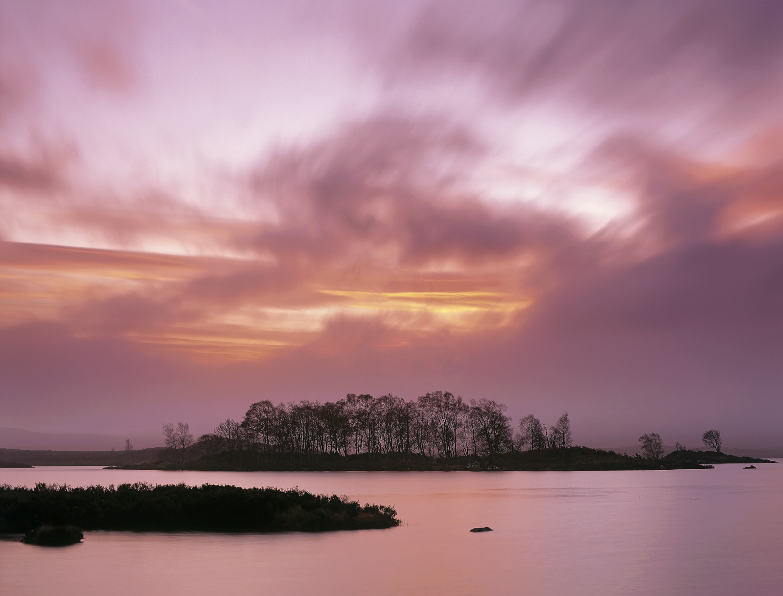 Sunrise over Loch Ba on Rannoch moor can be a splendid sight. The vast expanse of moorland provides a more or less uninterrupted...