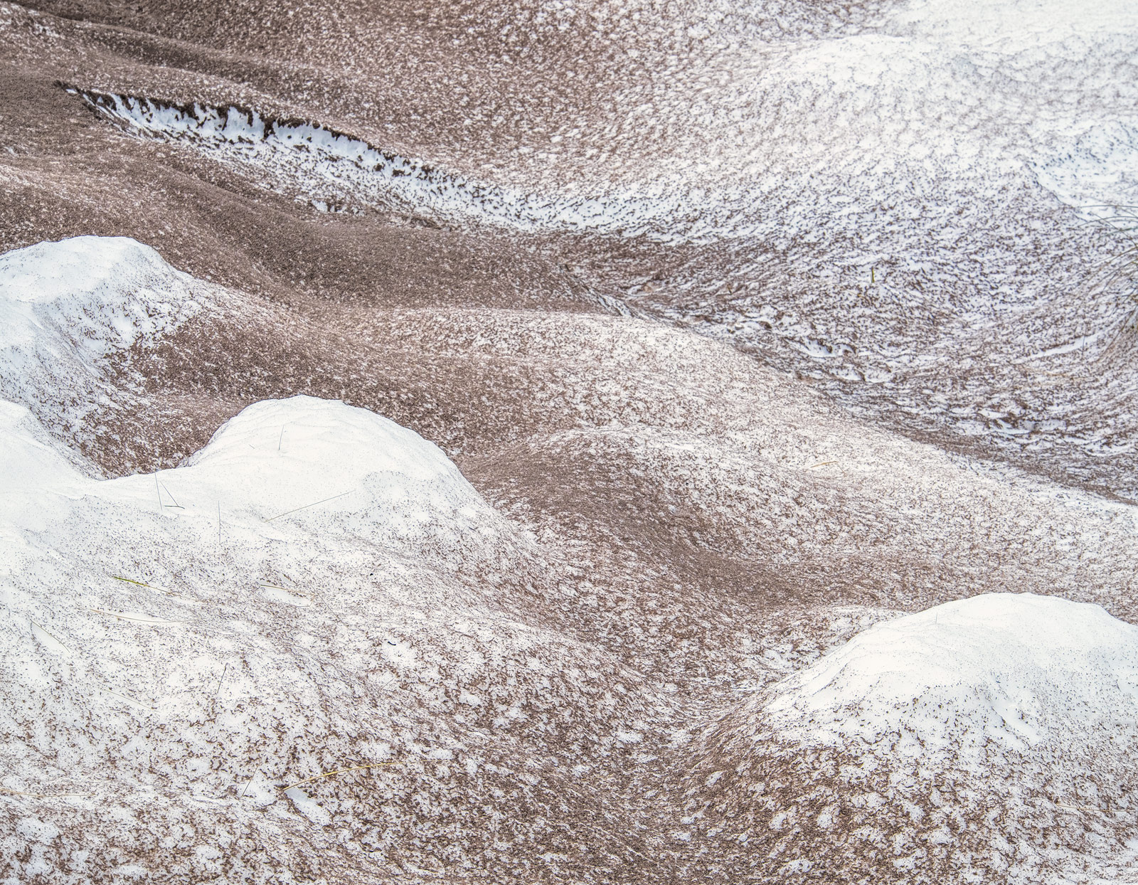 The second of a selection of winter dune shots taken after the ridiculously heavy and record breaking snowfall that struck Ullapool...