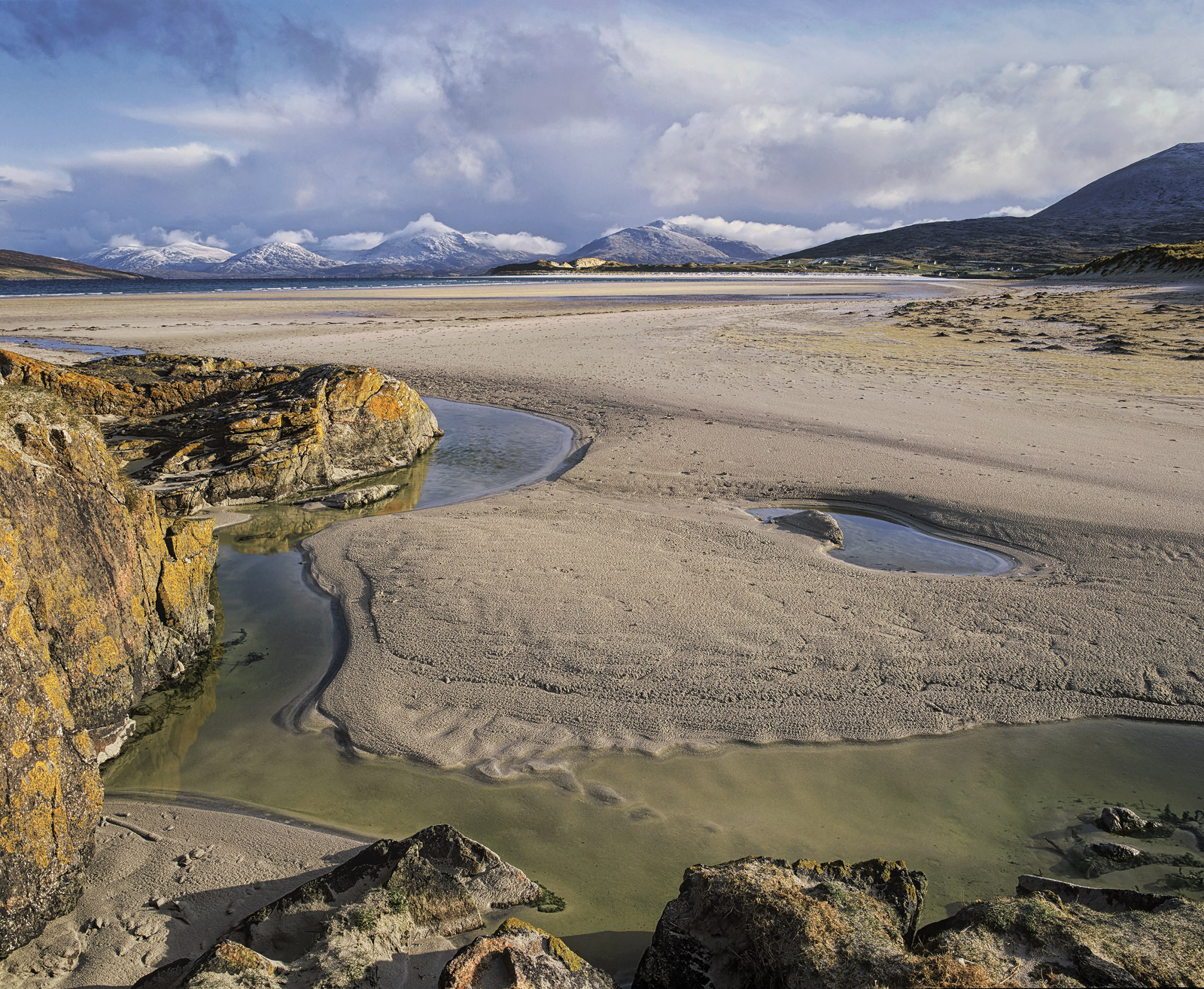 Luskentyre bay is quite possibly the most astounding beach in the whole of the British Isles. It goes on forever, is backed...