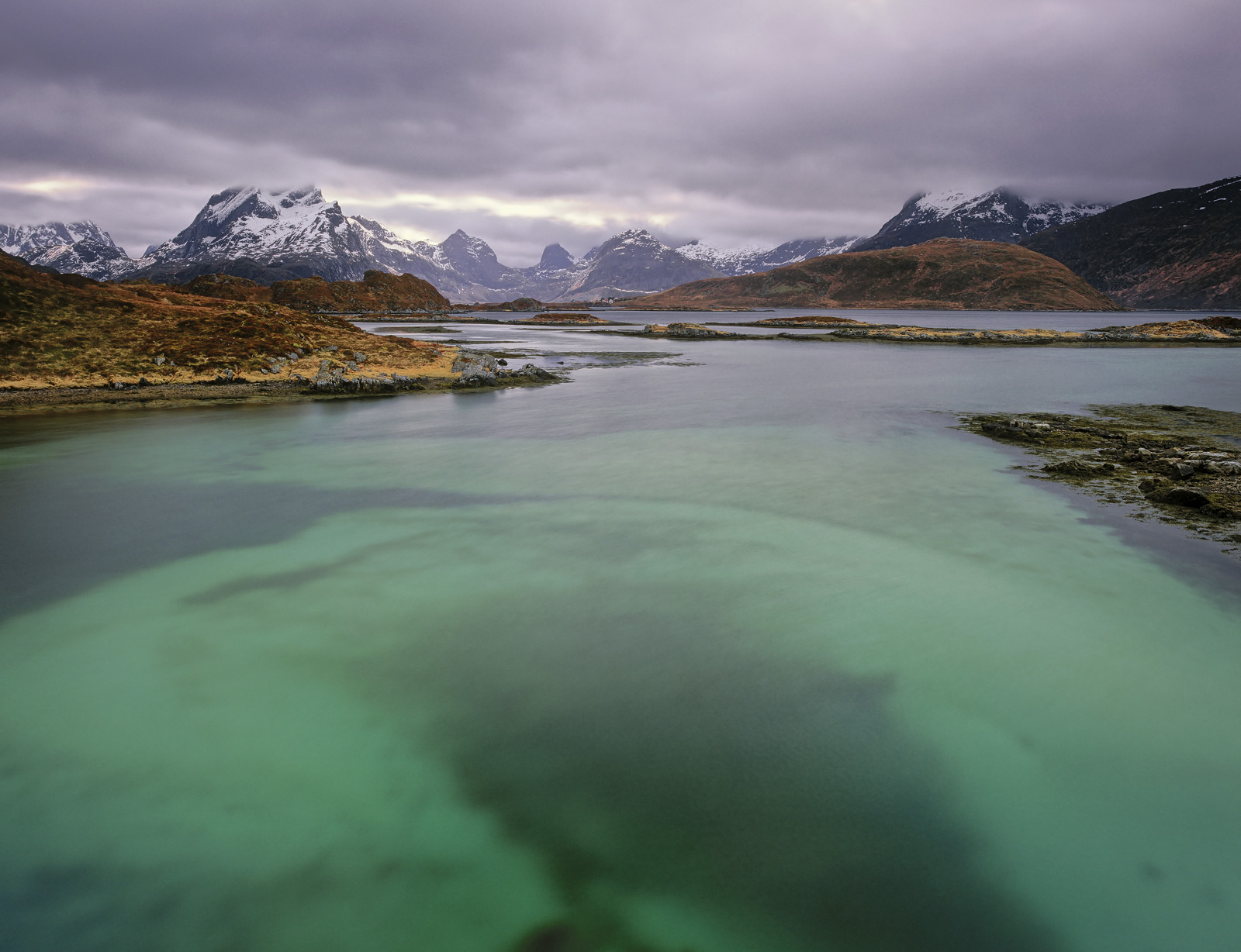 Another of these amazing turquoise blue water shots this time shot with optimal timing to get the strongest colour out of the...