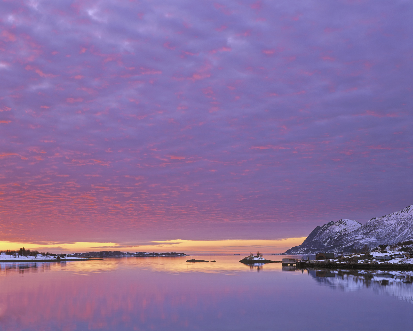 Definitely some of the most stunning light I have seen in Norway occurred not far from Hamn in Senja at Straumsnes where the...