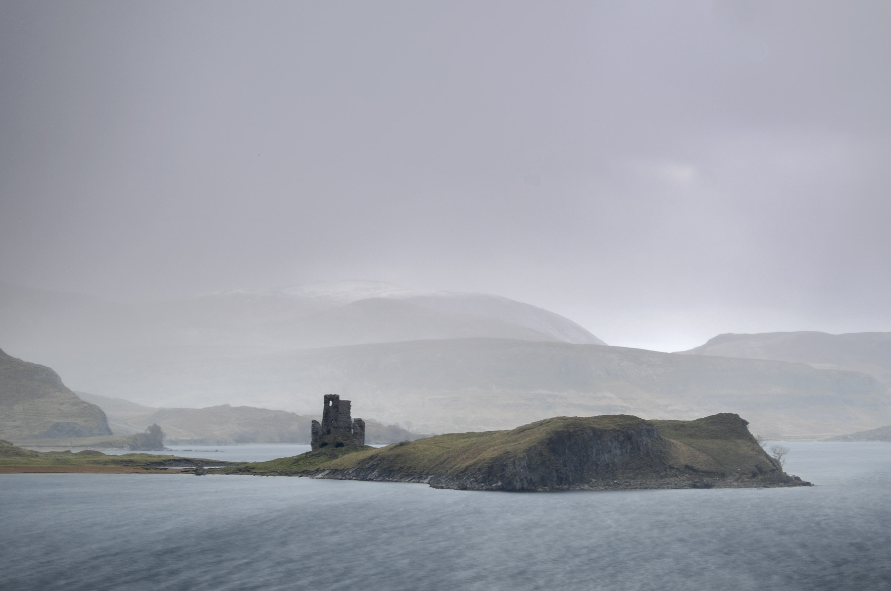 It really is difficult to imagine a bleaker outlook on a cold winter day than Ardvreck Castle at Loch Assynt but I cannot imagine...