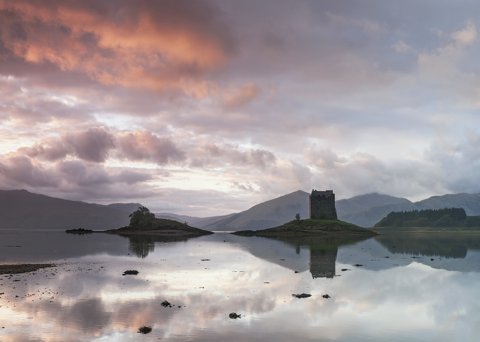It is difficult to recall a more perfectly relaxing and temperate conditions as that we experienced at Castle Stalker on this...