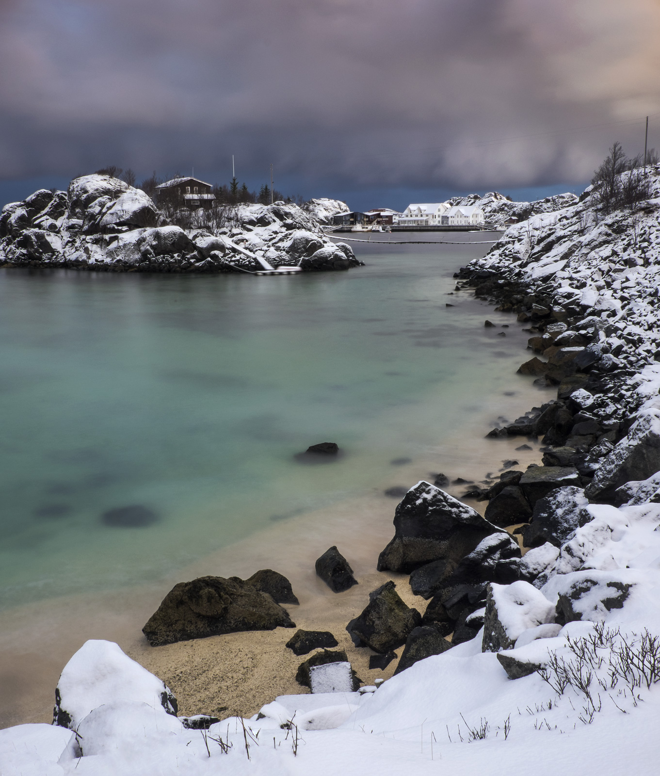 Perhaps my first real taste of the incredible light that Senja Island is capable of delivering came on our first morning wandering...