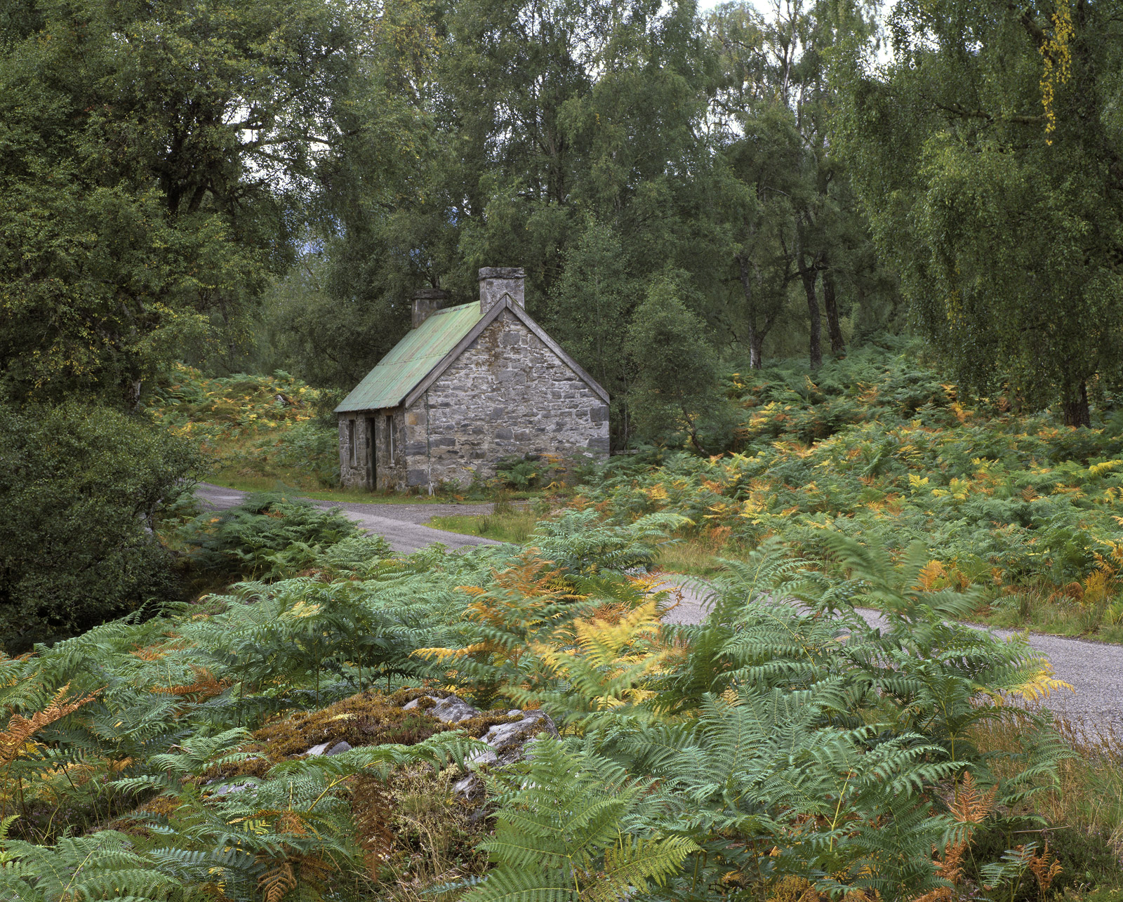 This picturesque little stone bothy is a few miles into the Strathfarrar glen and makes a splendid photograph when the foliage...